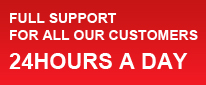 Full Support For All Our Customers 24 Hours A Day